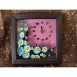 Orologio piccolo con fiori