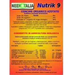 NUTRIK concime liquido 9% azoto 24kg