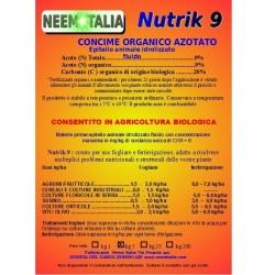 NUTRIK concime liquido 9% azoto 12 kg